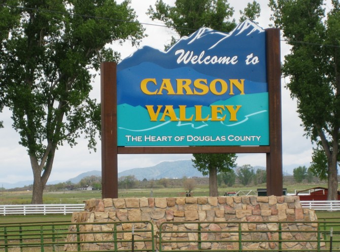 Welcome to Carson Valley, Nevada