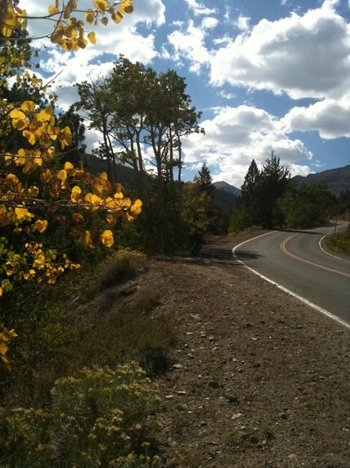 Early fall in the Sierra Nevada