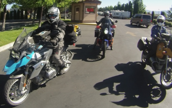 motorcycle riding in Carson Valley, Nevada